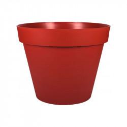 Pot plastique rond Toscane