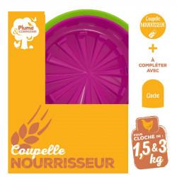 COUPELLE NOURISSEUR/CLOCHE...
