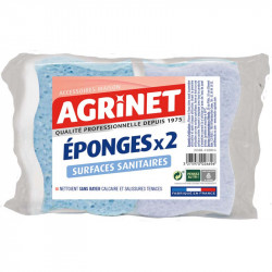 EPONGES SANITAIRES X2 AGRINET
