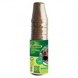 Pot rond biodegradable