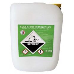Acide chlorhydrique 34% La...